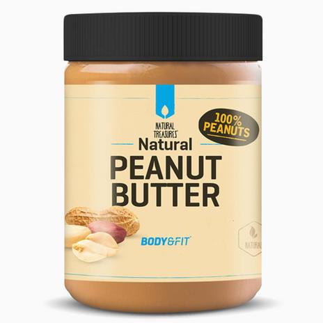 Body&Fit - 1kg Peanut Butter (Neutral/Crunchy) (Erdnussmus, Erdnussbutter)