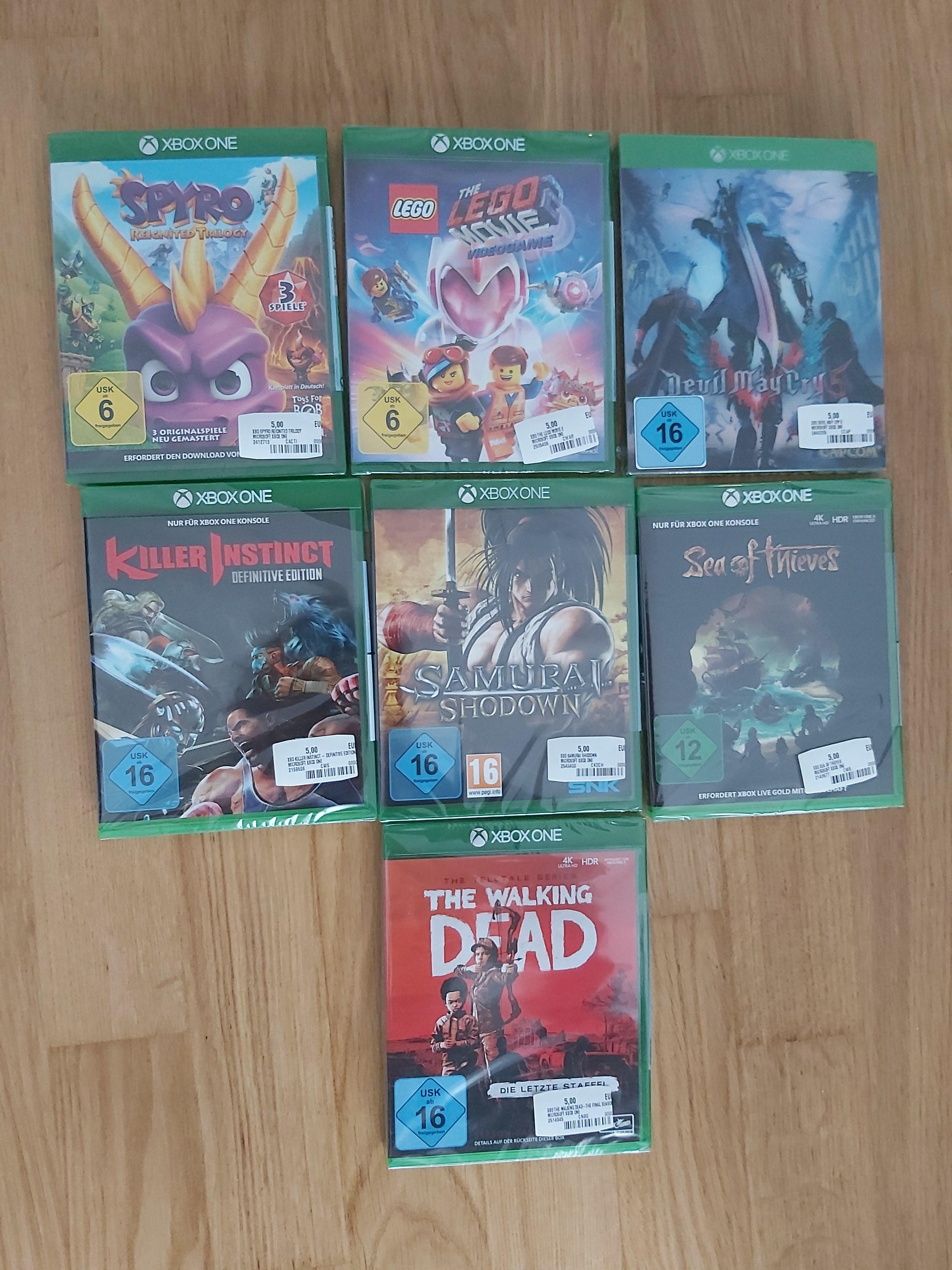 Lokal - Xbox One Spyro Reignited Trilogy und viele andere Games / MM Wiesbaden