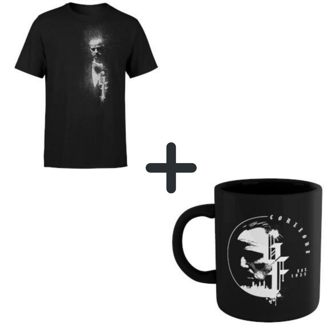 [Zavvi] Der Pate Bundle: T-Shirt und Tasse für 11,48€