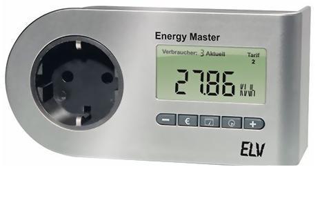 ELV Energy Master Basic Energiekosten-Messgerät - 29,80 Euro + 4,95 Euro VK
