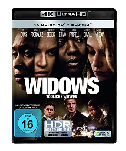 Widows - Tödliche Witwen 4K (4K UHD + Blu-ray) für 15,52€ (Amazon Prime)