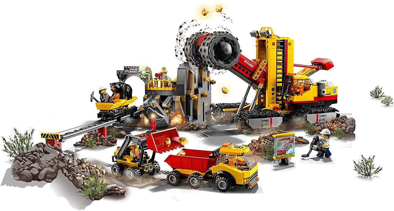 [Lokal] LEGO City 60188, Bergbauprofis an der Abbaustätte, Real Mutterstadt