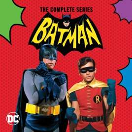 [Itunes US] Batman - Komplette Serie - digitale Full HD TV Show - nur OV - 60er Jahre Kult