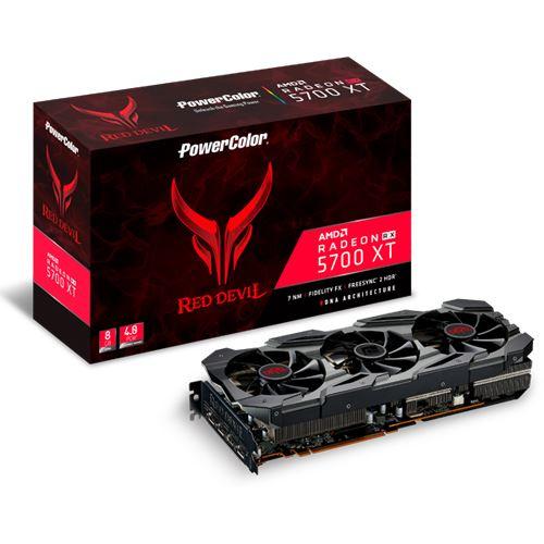 Powercolor RX5700 XT Red Devil (inkl. AMD Raise the Game Bundle) 0-6Uhr versandkostenfrei