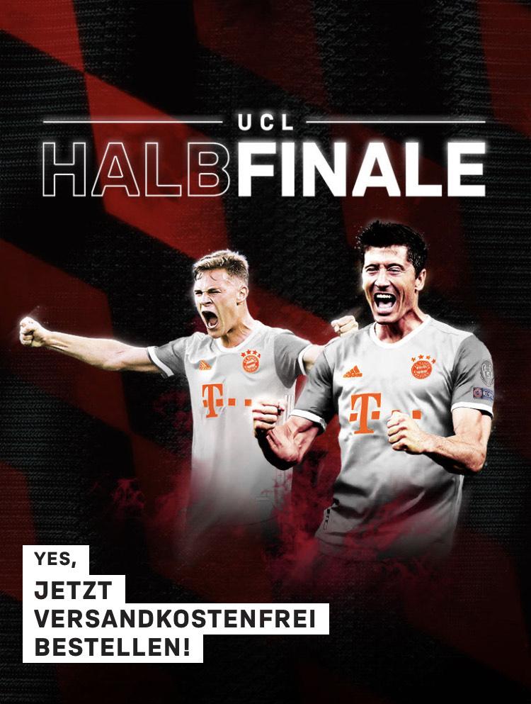 [FC Bayern Fanshop online] Versandkostenfrei bestellen ab 20€ MBW