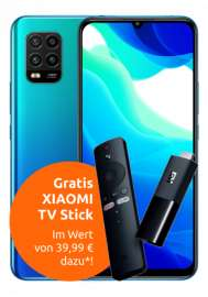 [Telekom-Netz] Congstar M 8GB LTE mtl. 20€ mit Xiaomi Mi 10 Lite + Mi TV Stick + Hoverboard 4,99€ ZZ I Samsung Galaxy A71 + Buds+ 53,99€ ZZ