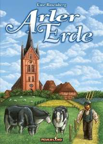 [Newsletter / Neukunden buecher.de] Arler Erde (2014) - 2 Spieler Brettspiel / Boardgame