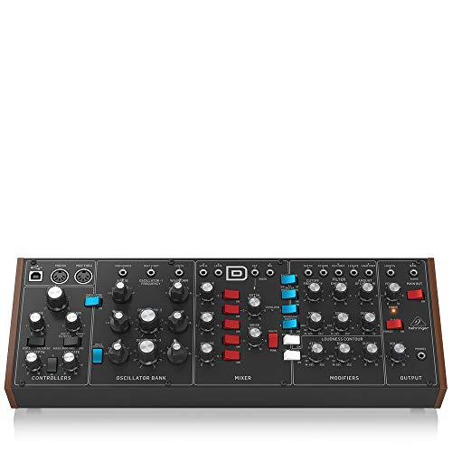 Behringer Model D monophoner Analogsynthesizer, Moog Minimoog Klon [Amazon] [Musikinstrumente]