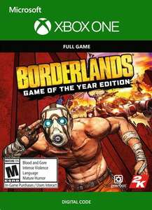 Borderlands GOTY (XBOX One, Metacritic 80 / 7,0)