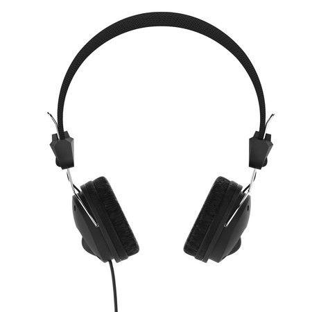 """HAMA """"Fun4Music"""", schwarz On-Ear-Stereo-Kopfhörer [Amazon Prime]"""