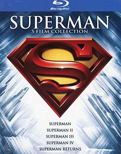 Superman 5-Film Collection 1978-2006 [Blu-ray] inkl. deutscher Tonspur