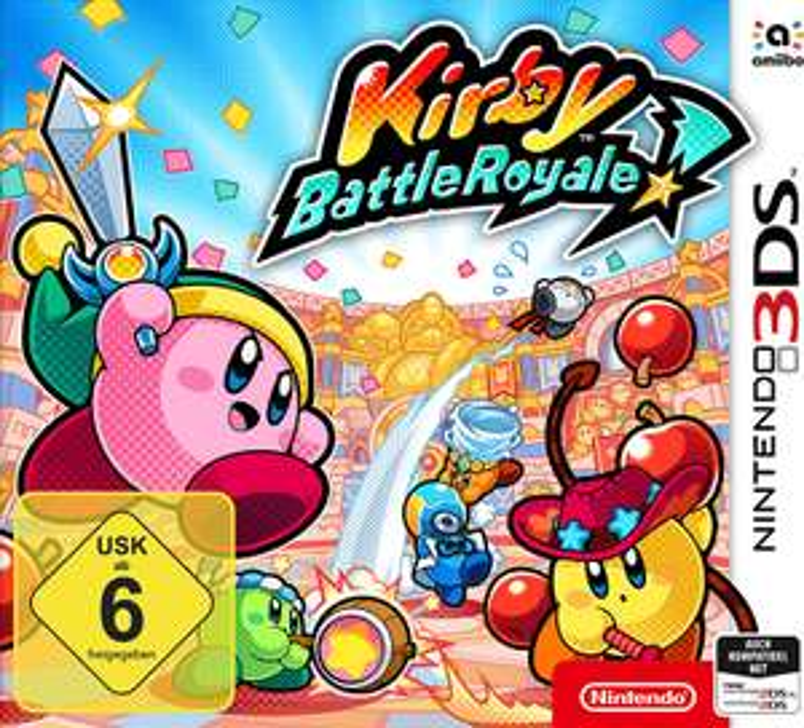 Kirby Battle Royale - Nintendo 3DS [Müller Abholung]