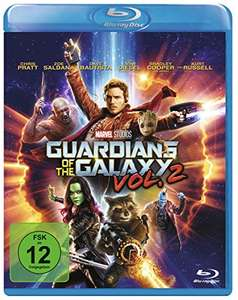 Guardians of the Galaxy 2 (Blu-ray) für 8,76€ (Amazon Prime & Müller Abholung)
