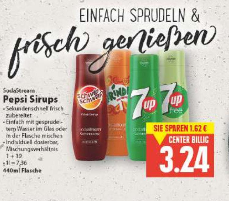 [Lokal] Edeka Minden-Hannover: Pepsi Sirup für Sodastream (versch. Sorten)