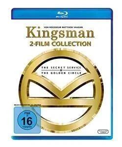 Kingsman 1+2 (Doppelset Blu-ray) für 7,19€ (Müller Abholung)