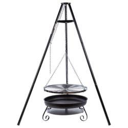 Schwenkgrill von Silvertree 66cm Durchmesser bei Real Online