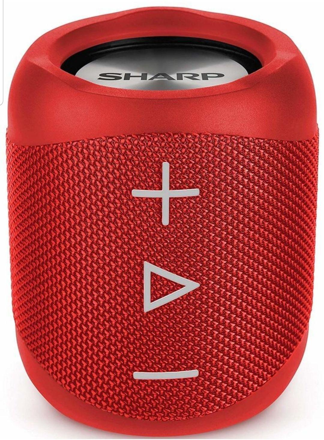 Sharp GX-BT180   Stereo Bluetooth Lautsprecher   Spritzwassergeschützt (IP56)   Sprachassistent (Google & Siri)   [Real & Amazon Prime]