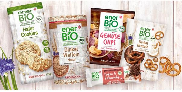 [Rossmann] [offline] 3 für 2 auf EnerBio Snacks + 10% App GS