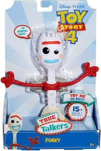 Mattel Toy Story 4 True Talkers: Forky [Amazon Prime]
