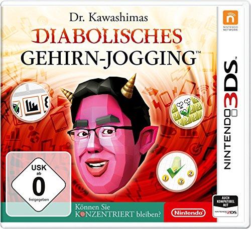 Dr. Kawashimas: Diabolisches Gehirn-Jogging - Können Sie konzentriert bleiben? (3DS) für 14,99€ (Amazon Prime)