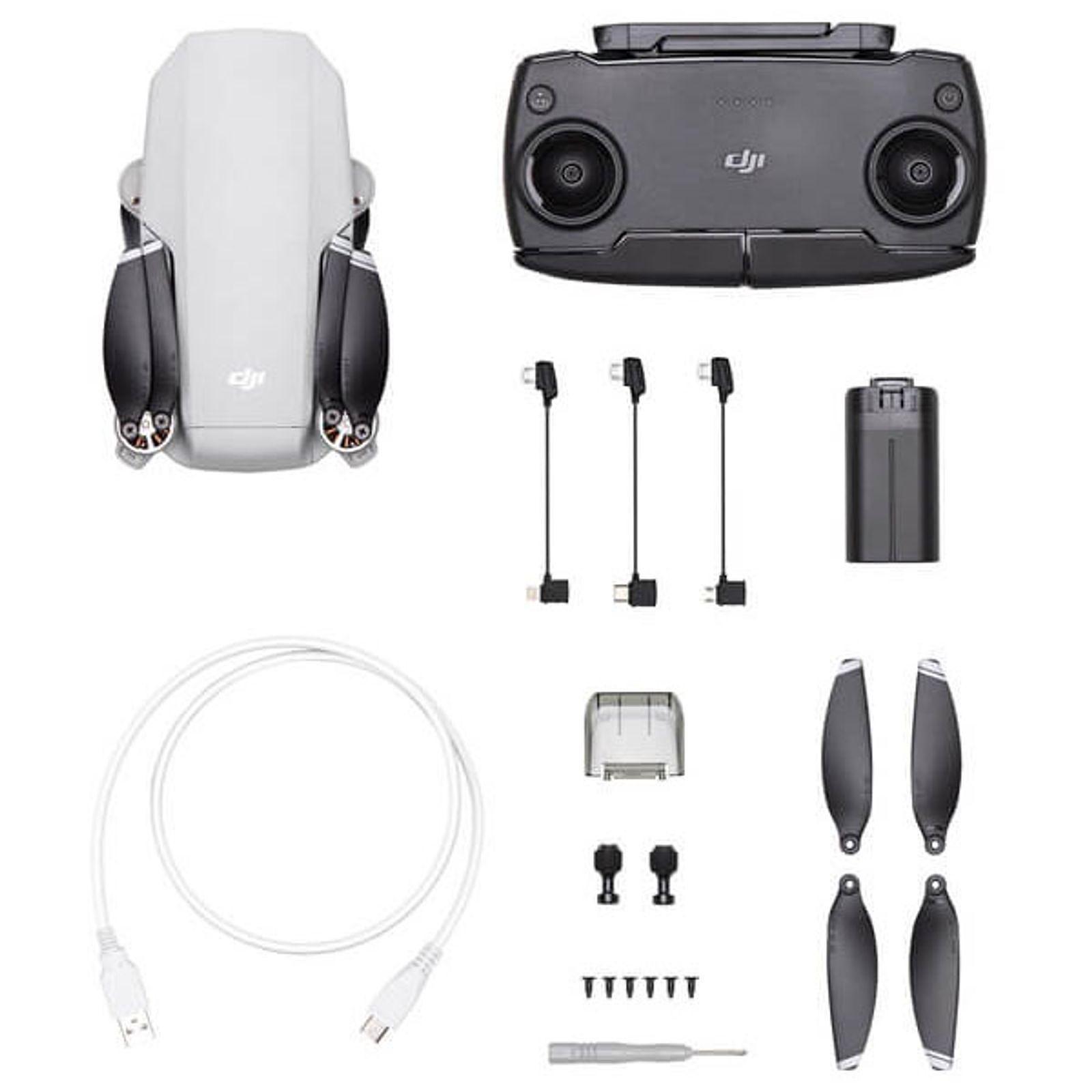 DJI Mavic Mini: Drohne (30min Flugzeit, 2km Reichweite, 2.7K Auflösung)