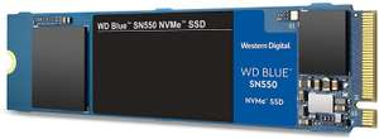 Western Digital WD SN550 500 GB High-Performance SSD (2.400 MB/s, M.2, PCIe, 3D TLC, NVME)