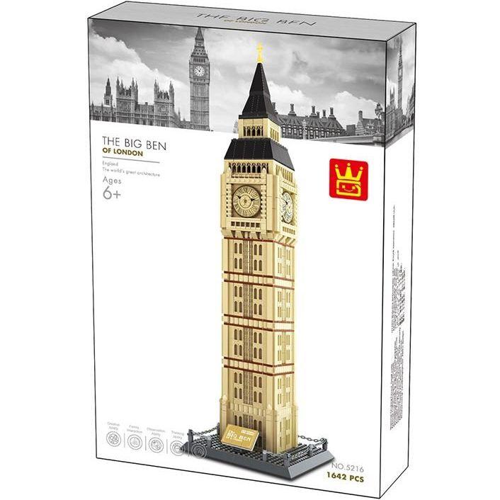 """[Klemmbausteine] Architekturset """"Big Ben von London"""" von Wange (5216) @ Klemmshop.de"""