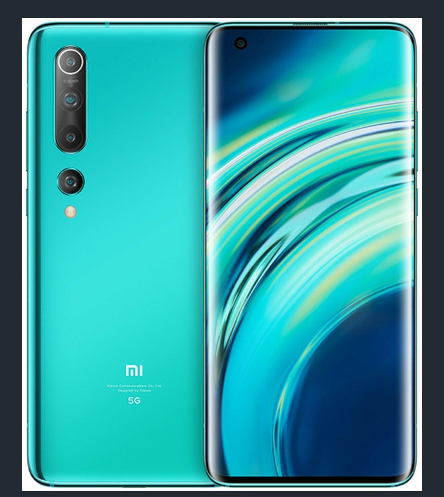 Xiaomi Mi 10 8/256GB Coral Green verkauf und Versand Amazon
