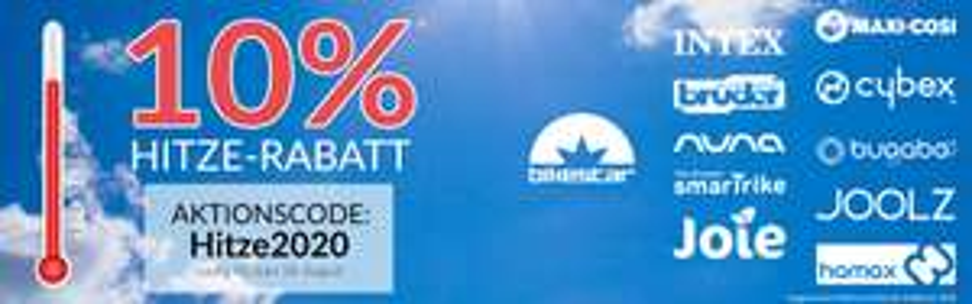 10 % Rabatt bei Babyprofi bis zum 18.08.2020 u.a. MaxiCosi, Joie, Cybex usw.