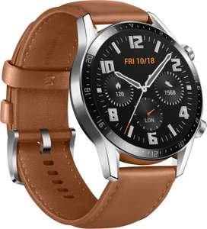 "Huawei Watch GT 2 46mm Classic (1.39"" OLED, 454x454, BT 5.1, GPS, ~13 Tage Laufzeit, Mikrofon, Lautsprecher, 2GB Musikspeicher, 5ATM)"