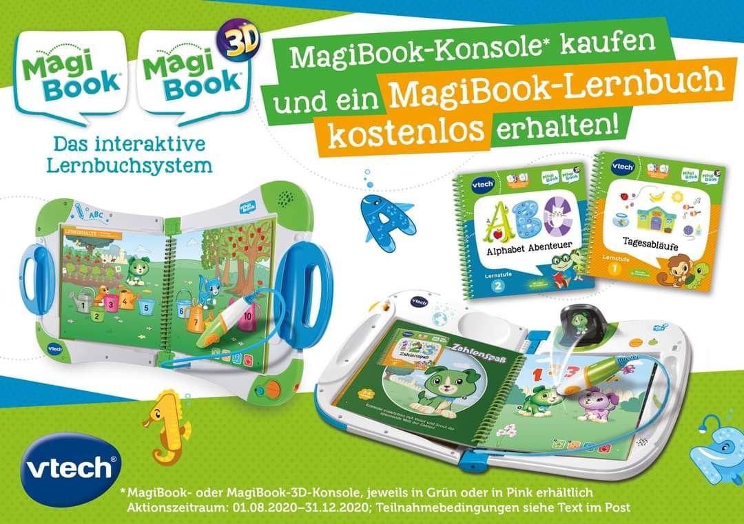 VTech Magibook Buch kostenlos bei Kauf einer Konsole