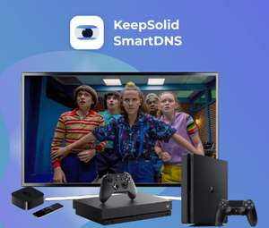 KeepSolid SmartDNS 12 Monate kostenlos (Win & Maс & Android & iOS)