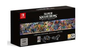 Super Smash Bros. Ultimate Limited Edition (Switch) für 77,99€ (Müller Abholung)