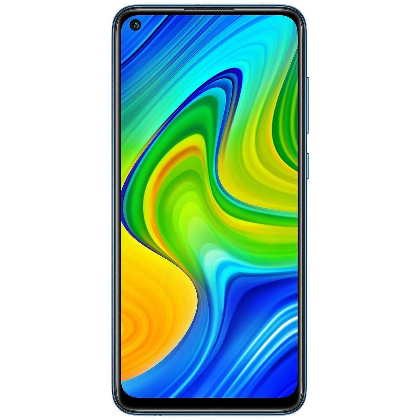 "Xiaomi Redmi Note 9 64/3GB (Helio G85, 6.53"" FHD Display, NFC: Google Pay, 5020mAh Akku, 48MP Kamera, Triple Slot, Klinke, IR, 199 Gramm)"