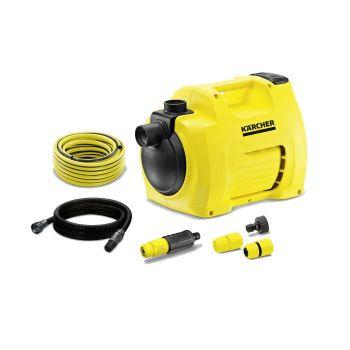 Kärcher BP2 Gartenpumpe Set Plus, 700 Watt, 3000 Liter/Stunde Fördermenge, Fußschalter