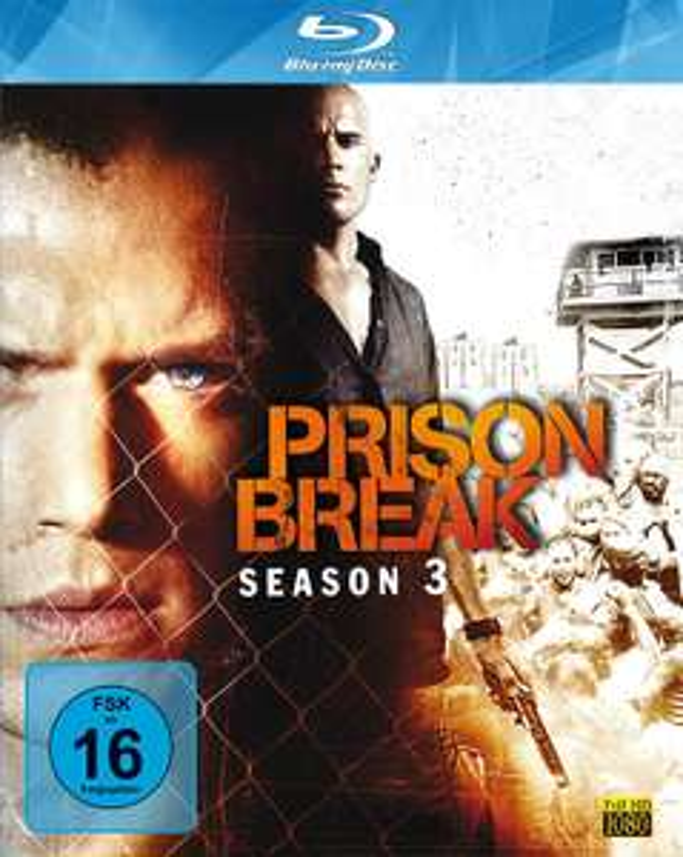 Prison Break - Staffel 3 (Blu-ray) für 7,79€ (Saturn Abholung)