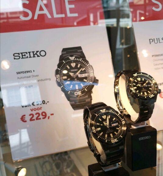Seiko Monster SRPD29K1 Diver Automatik ROERMOND 229,-€