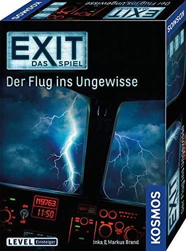 KOSMOS EXIT - Das Spiel - Der Flug ins Ungewisse, Level: Einsteiger, Escape Room Spiel für 7,81€ (Amazon Prime)