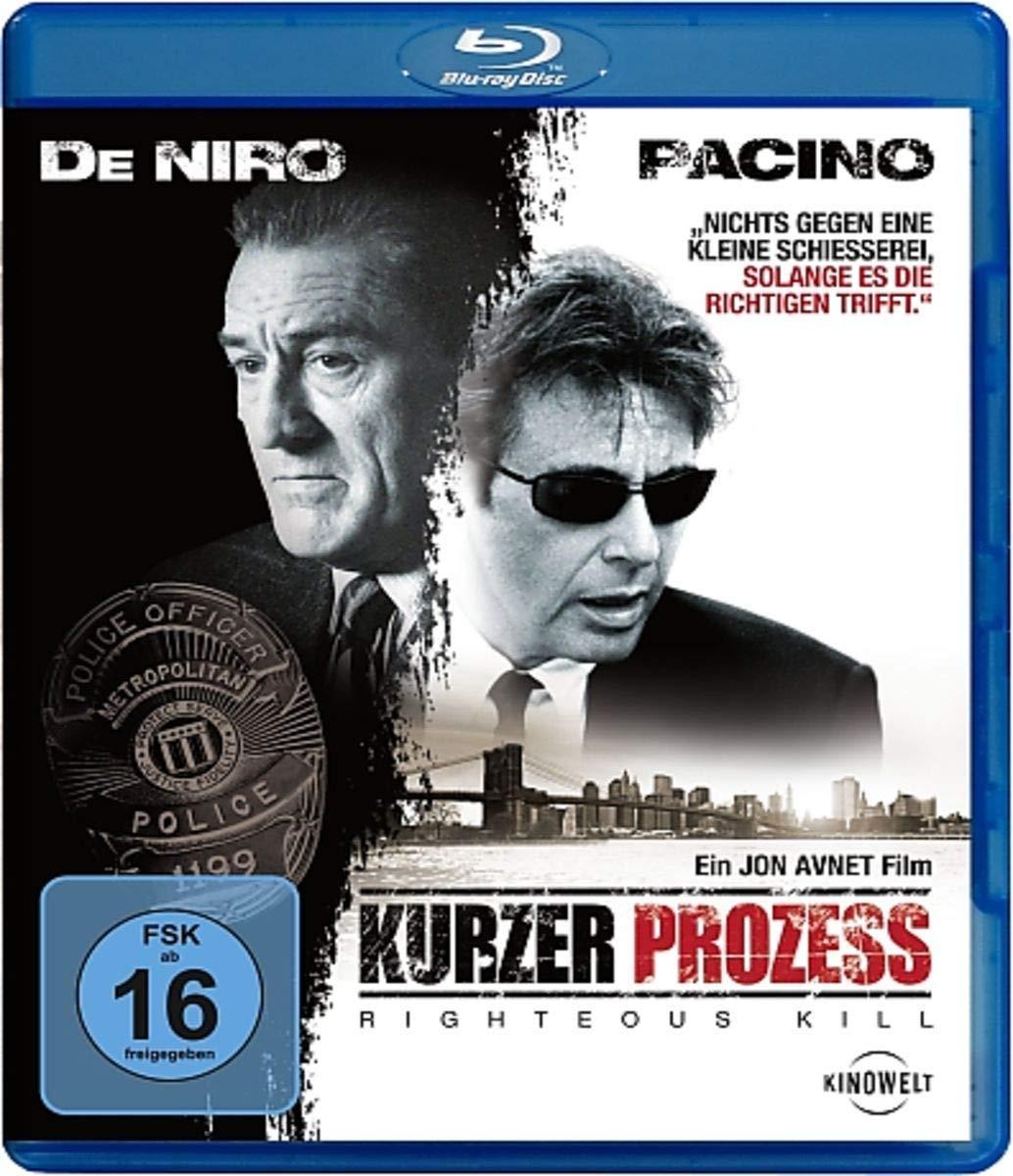 Kurzer Prozess - Righteous Kill (Blu-ray) für 3,88€ (Amazon Prime & Dodax)
