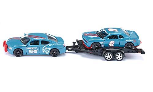 Siku, Dodge Charger mit Dodge Challenger SRT Racing, Himmelblau, Metall/Kunststoff, 1:55 für 10,61€ (Amazon Prime & Media Markt Abholung)
