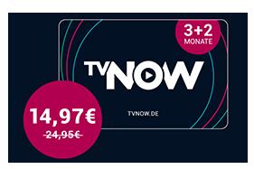 [Penny Kartenwelt] TV Now - 3 Monate kaufen, 5 Monate erhalten (ab 24.08.20 bis 30.08.20) - Neukunden
