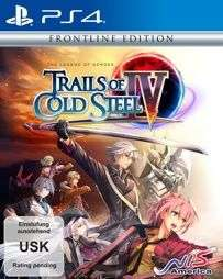 The Legend of Heroes: Trails of Cold Steel 4Frontline Edition (PS4) [Netgames]