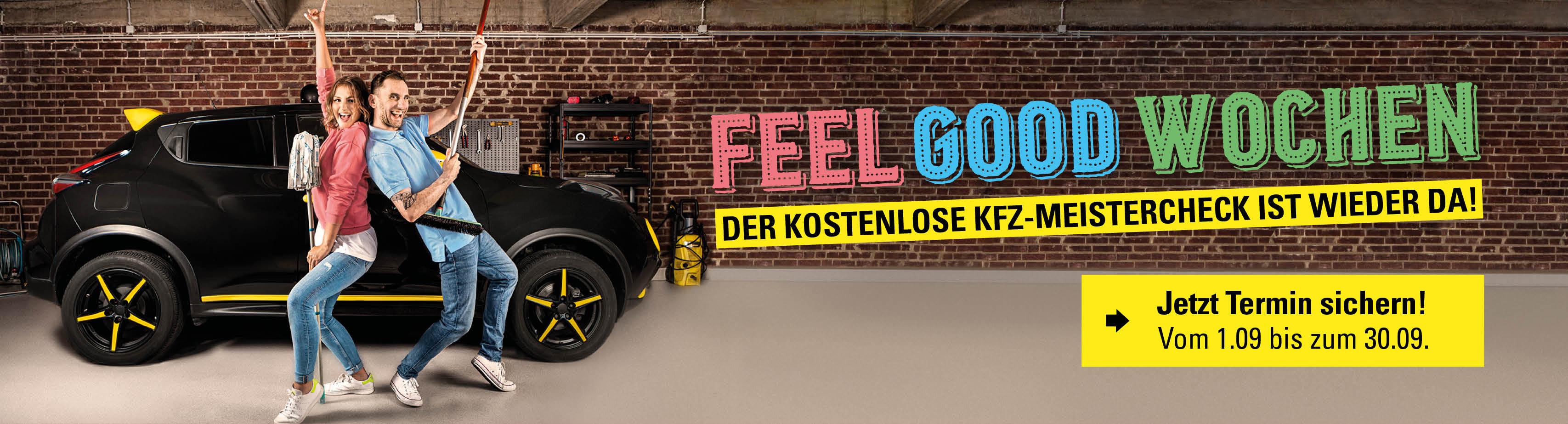 Vergölst Feel Good Wochen: Gratis Kfz-Meistercheck (398 Standorte in Deutschland)