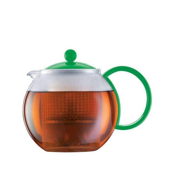 Bodum Assam Teebereiter mit Kunststofffilter und Kunststoffdeckel, 1.0 l