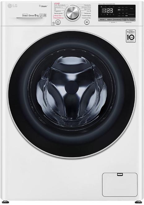LG V4W800 Serie 4 Waschmaschine (8 kg, 1360 U/Min., A+++, Smart ThinQ, 14 Programme ) für 399€ (Saturn Filiale)