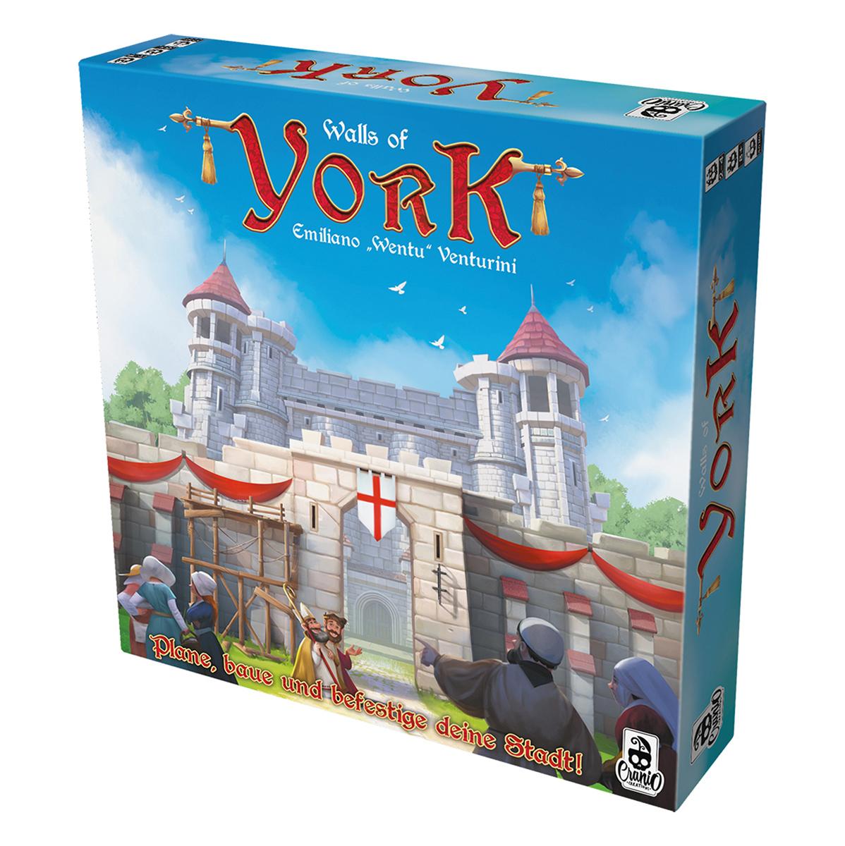 Walls of York (Brettspiel) für 19,90€ @ bigpandav