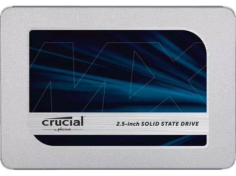 [Mediamarkt] Crucial MX500 500GB CT500MX500SSD1(Z)-bis zu 560 MB/s (3D NAND, SATA, 2,5 Zoll, Internes SSD) für 48,28€(Abholung)