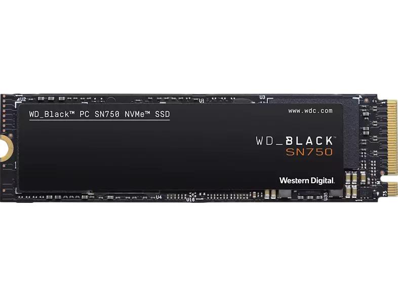 [Mediamarkt] WD Black SN750 NVMe SSD 500 GB M.2 (2280) SSD (Solid State Drive) für 76,30€