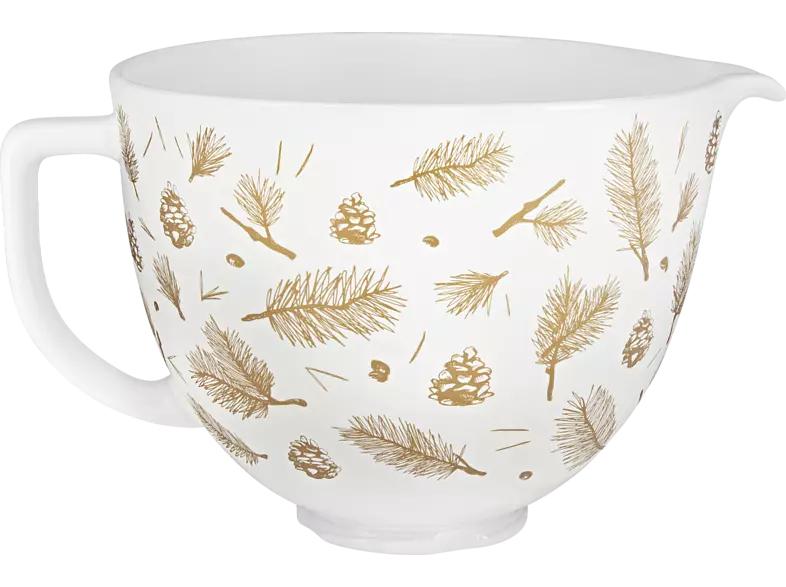 KITCHENAID 5KSM2CB5PPB Keramikschüssel Weihnachten 4,7l