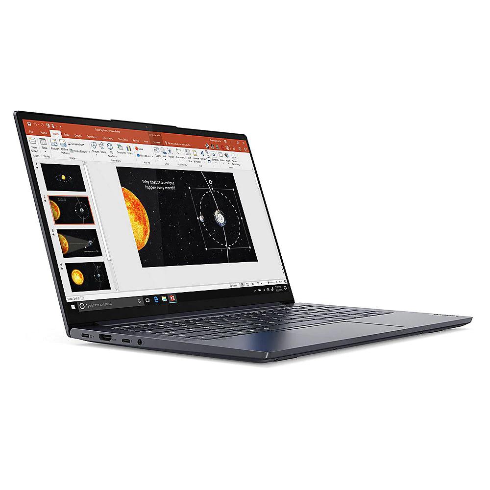 Lenovo Yoga Slim 7 14ARE05 Ryzen 5 4500U, 8GB RAM, 512GB SSD IPS, 300cd/m², 100% sRGB Win 10 Home, Tastatur beleuchtet, 1,33kg